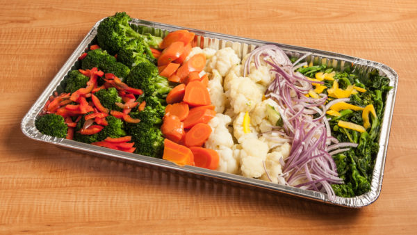 Large/Extra-Large Steamed Vegetables
